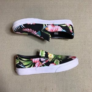 hawaiian slip on vans